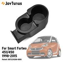 Держатель для напитков в автомобиле, держатель для стакана, двойная приставка для Smart Fortwo 451/450 1998 2015 A4518100370
