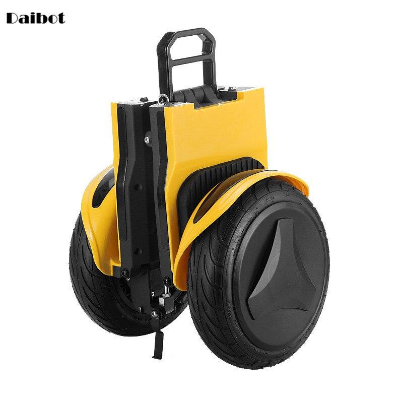 Daibot, Scooter Eléctrico todoterreno, plegable, 2 ruedas, Scooters autoequilibrantes, doble unidad, 250W, 36V, monopatín con Bluetooth