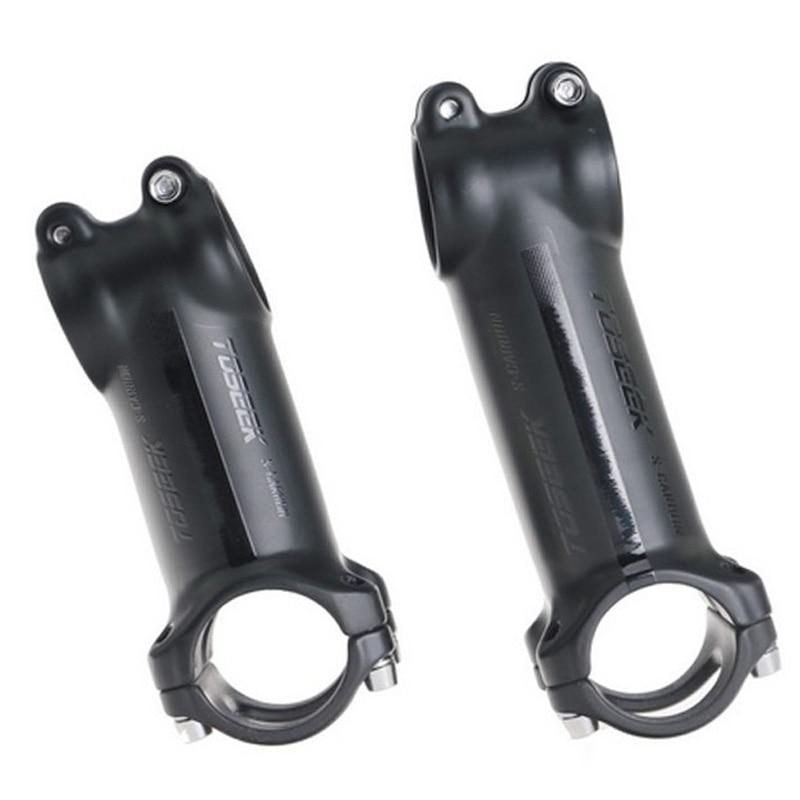 31,8mm MTB parte del vástago de la barra delantera 60mm 70mm 80mm 90mm 100mm 120mm aleación de aluminio barra del manillar de la bicicleta de carretera