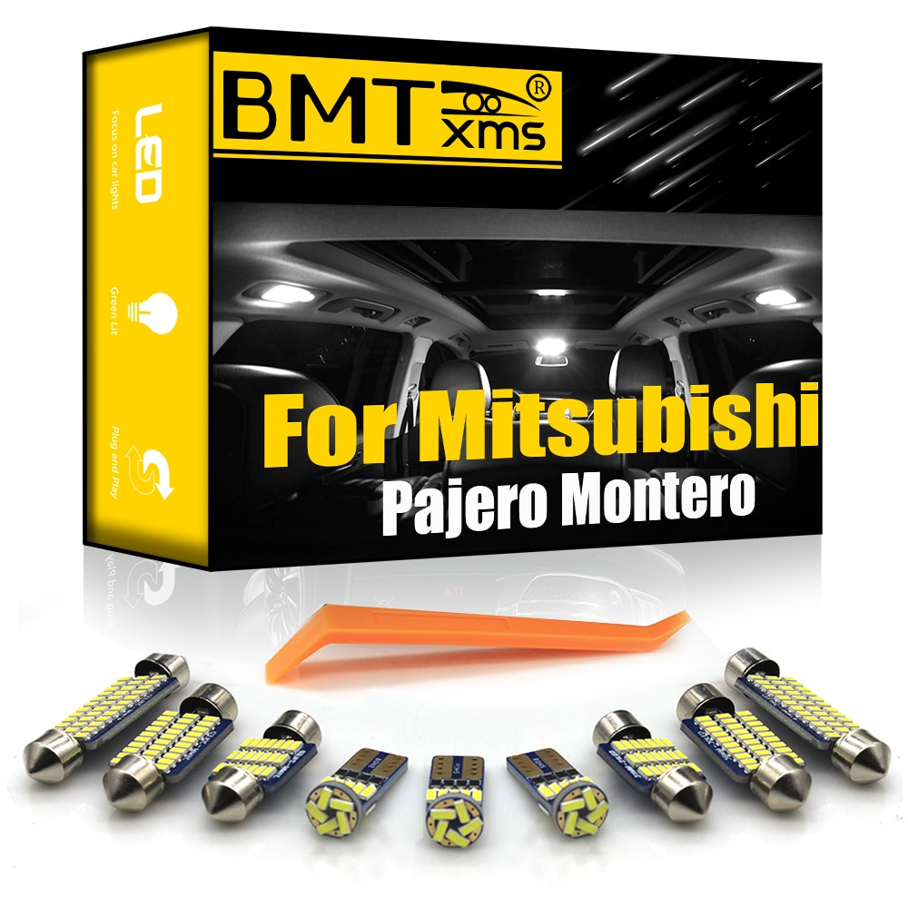 Bmtxms Voor Mitsubishi Pajero Montero Shogun Sport 1 2 3 4 MK1 MK2 MK3 MK4 1990 2020 Canbus Led interieur Kaart Dome Indoor Licht Signaal lamp    -