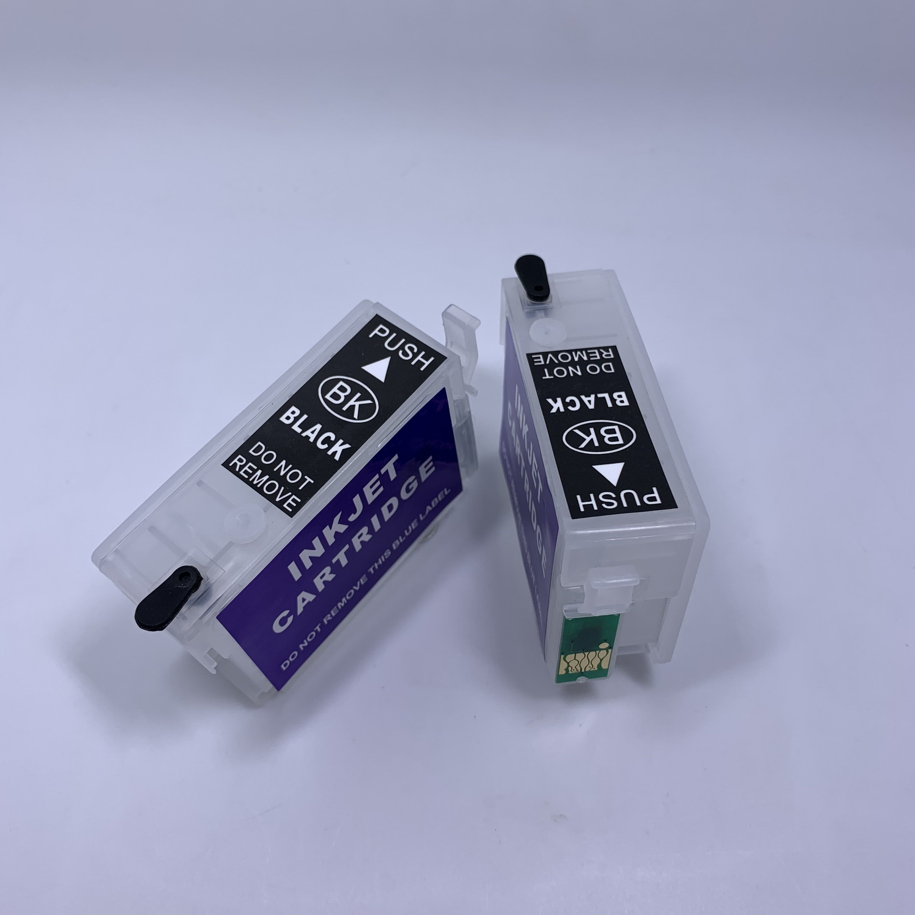 Cartucho de tinta recargable yomat 2 uds T1361 T1361 para impresora Epson K101 K201 K301 (con Chip permanente)