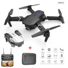 EBOYU LS-E525 RC Drone 2.4Ghz 4K /1080P WiFi FPV RC Drone Dual Cams Altitude Hold One-Key-Return Foldable RC Quadcopter Toy RTF