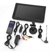 LEADSTAR 10 pouces télévision numérique ATSC Portable TV 1080P HD HDMI lecteur vidéo pour avion de voiture à domicile 110-220V prise américaine/ue