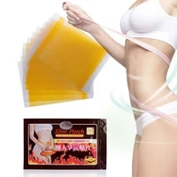 80 hot sale 10pcspack fat burning patch ultra thin figure building natural ingredients air permeable weight loss patch for uni