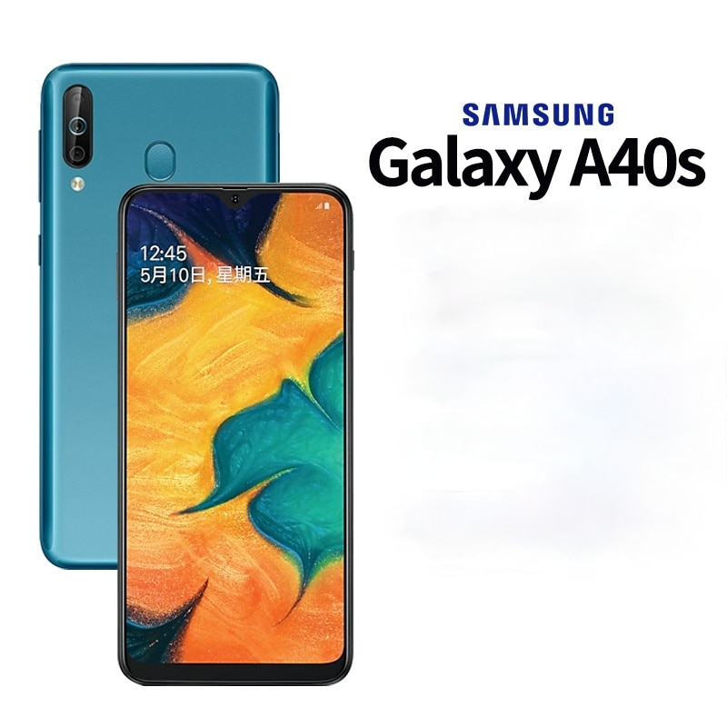 New Original Samsung Galaxy A40s 6.4'' Smartphone 6G RAM 64G ROM Triple Camera 13MP 5000mAh Battery 4G LTE Android Mobile Phones