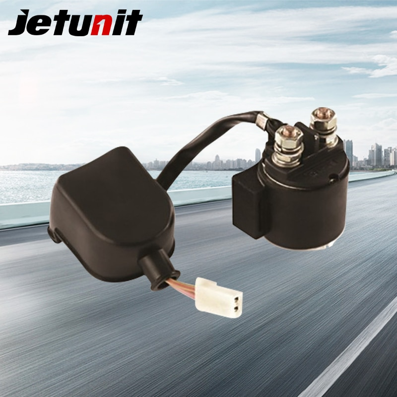 JETUNIT relé de arranque de motocicleta solenoide para Shineray 125 150 200 piezas eléctricas accesorios de motocicleta