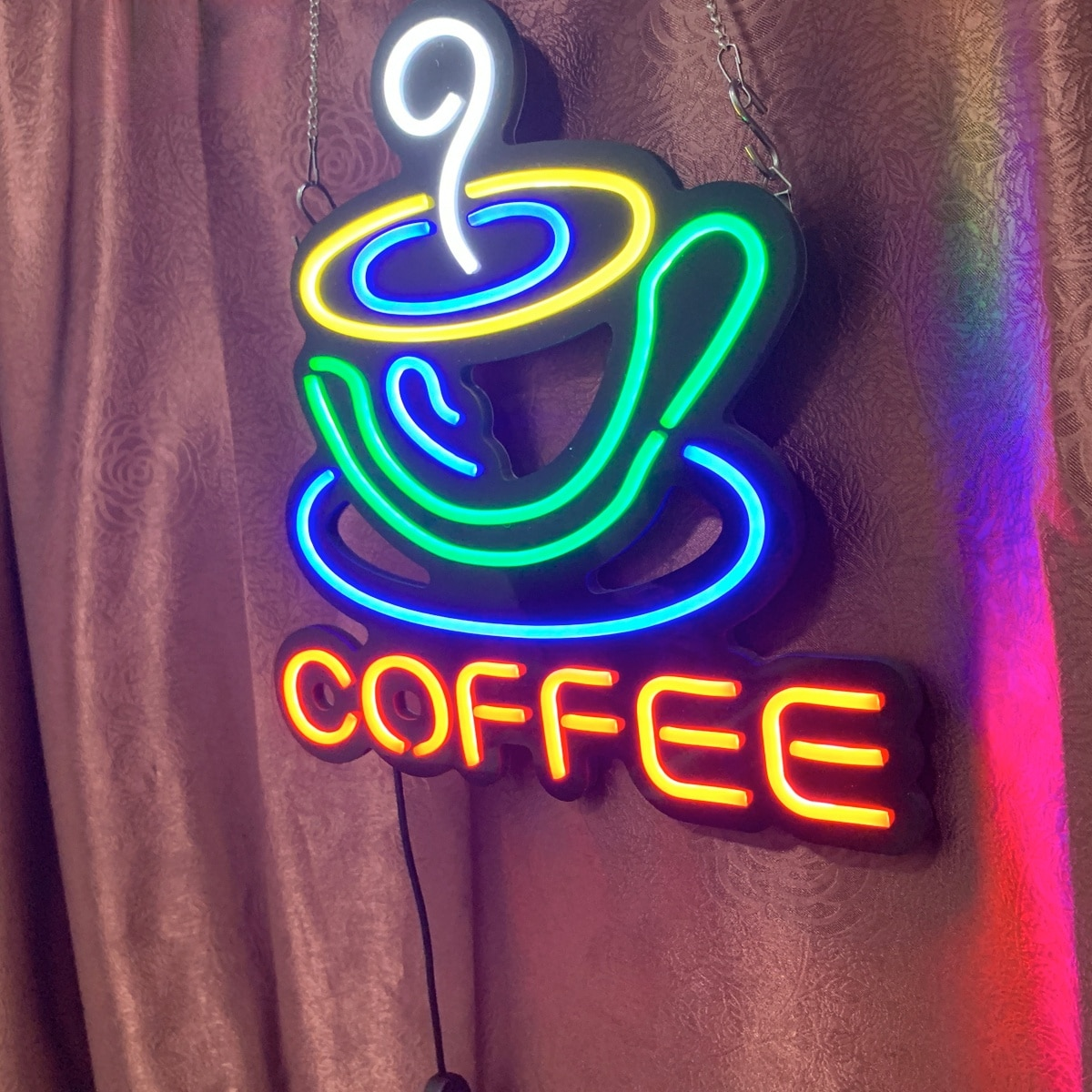 LED flexible neon sign, customized, handmade, suitable for beer, bars, shops, bars and nightclubs enlarge