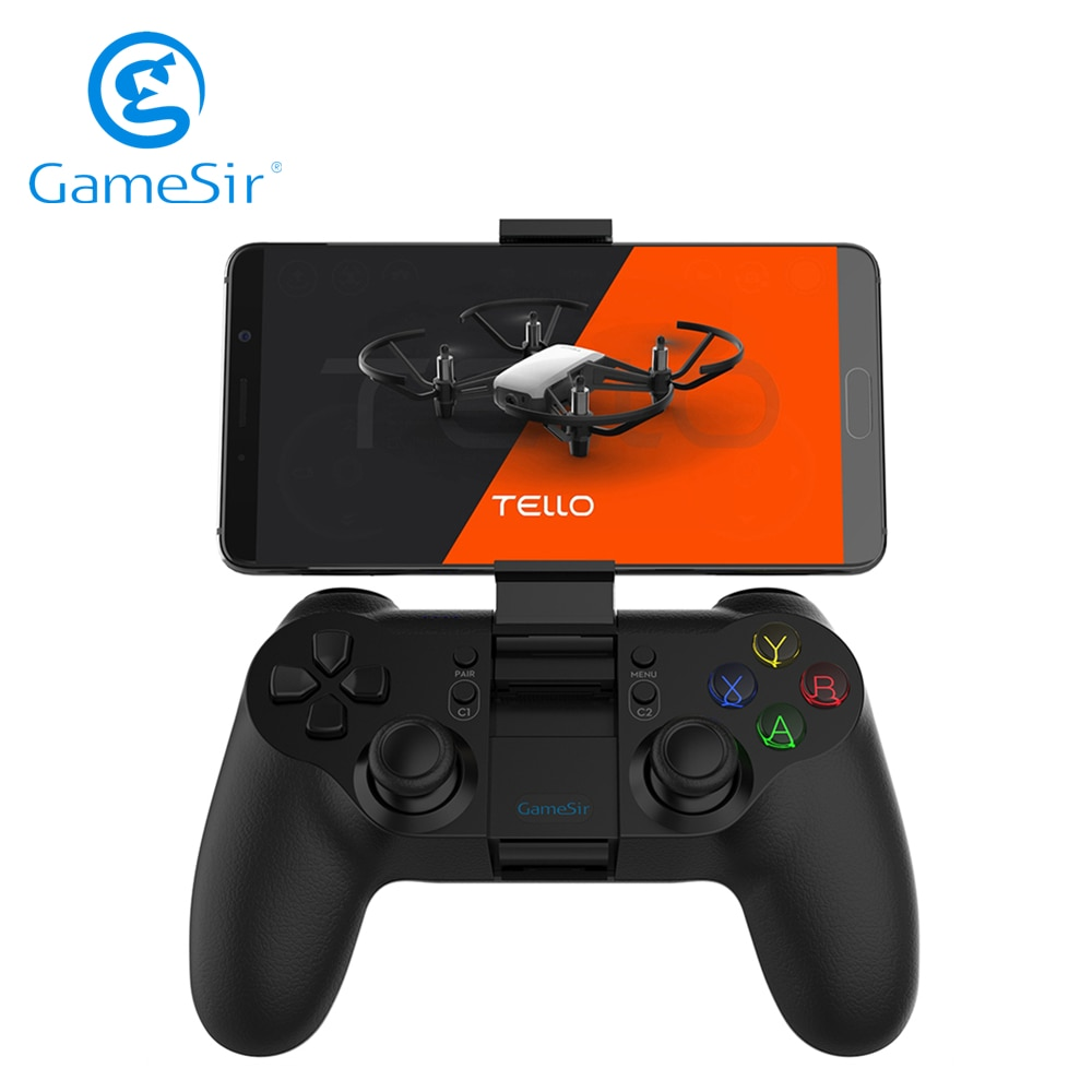 GameSir T1d Bluetooth Controller for DJI Tello Drone Compatible with iOS iPhone and Android Phone