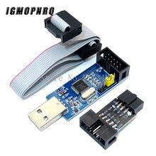 1 carte adaptateur 10Pin à 6 broches + USBASP USBISP AVR programmeur USB ATMEGA8 ATMEGA128 atminuscule/CAN/PWM 10Pin Module de fil bricolage