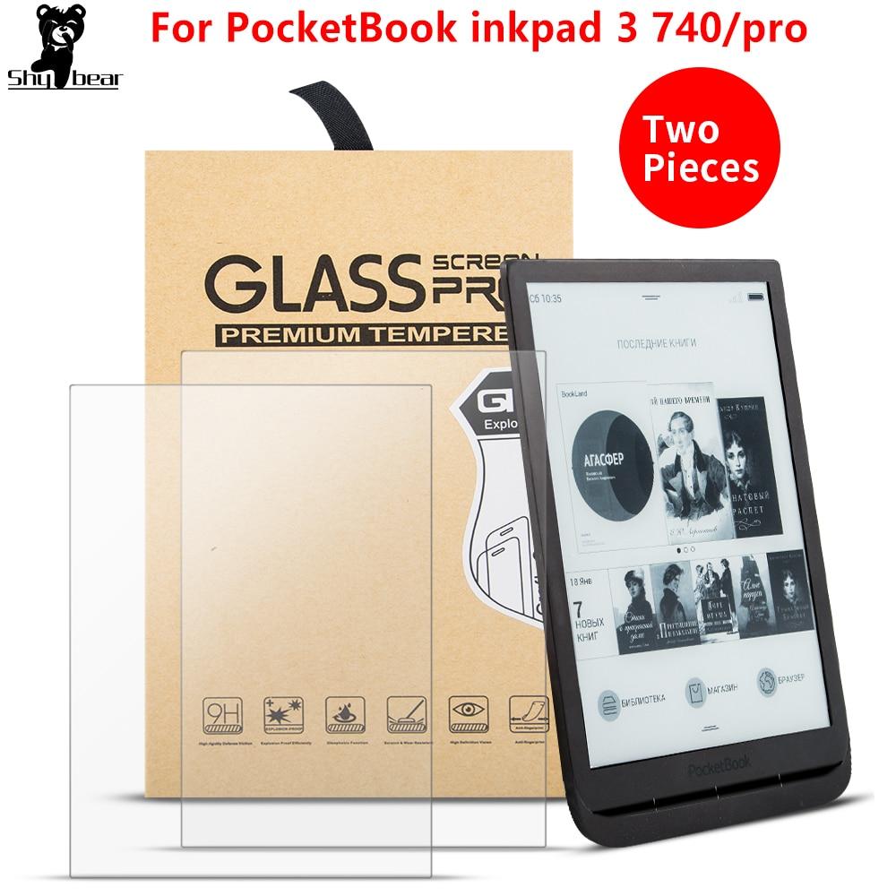 2 шт./лот чехол из закаленного стекла для PocketBook 740 InkPad 3 7,8 дюймов Защита от царапин для электронных книг