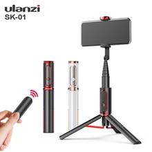 Ulanzi SK 01 Мини Bluetooth селфи пульт дистанционного управления Управление вертикальный штатив съемки онлайн Vlog штатив монопод