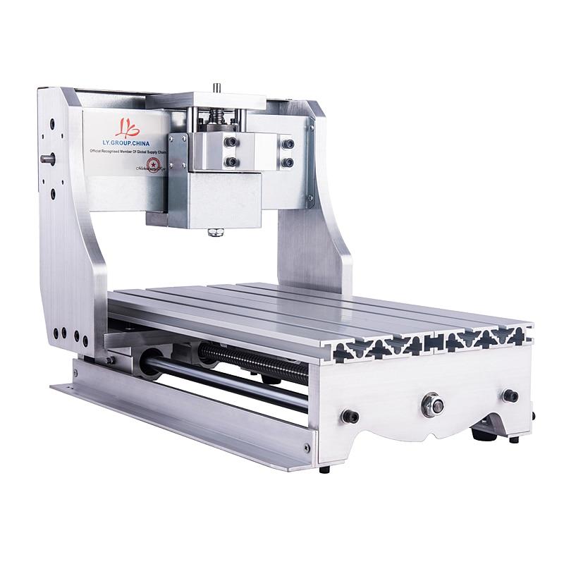 Kit de marco de enrutador CNC de alta calidad 3020 6040 con tornillo de bola para fresadora de enrutador CNC DIY