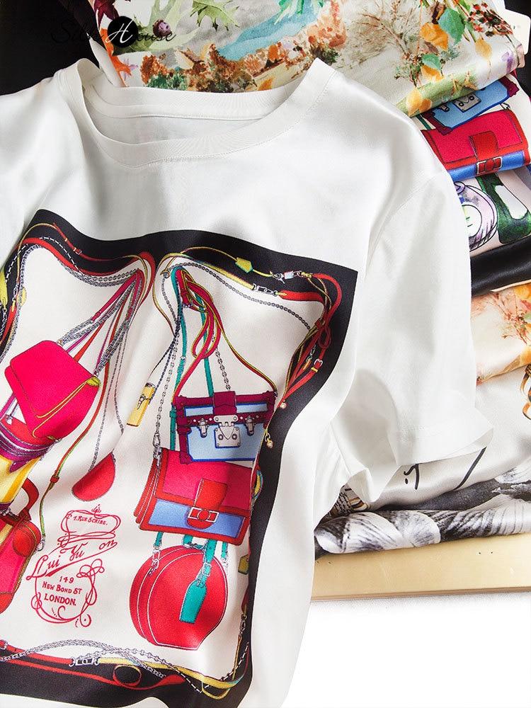 2021 moda inicio da primavera coringa luxo cetim de seda exclusiva impressao digital