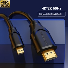 Micro-HDMI 4K Cable 90 degree Mini HDMI extension cable male to Female  for Laptop Notebook camera P