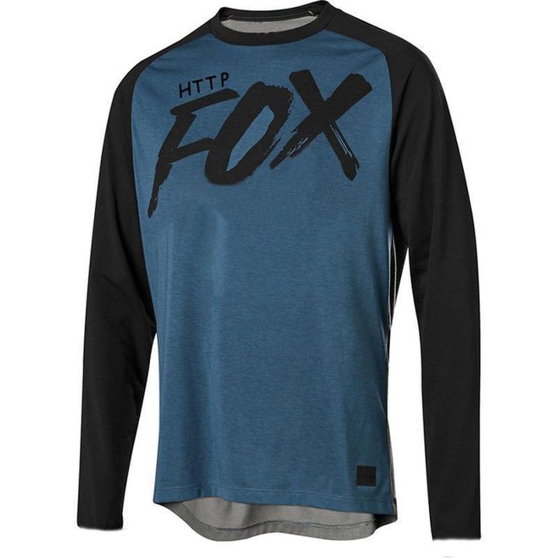 Jersey para descensos Santa Cruz camiseta de Motocross HTTP FOX MTB MX...
