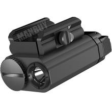 2021 Nitecore NPL20 Weapon Light CREE XP-G3 S3 LED 460LMs CR123A Tactical Flashligh Shooting Hunt Wa