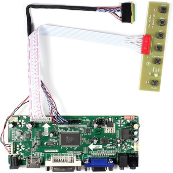 Mnt68676 Board Monitor Kit for LTN140AT02 LTN140AT07 HT140WXB HSD141PHW1 HDMI+DVI+VGA LCD LED screen Controller Board Driver