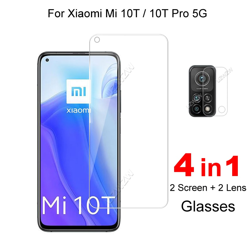 For Xiaomi Mi 10T Pro 5G / Mi 10T 5G Camera Lens Film Protective Glass Screen Protector Guard Tempered Glass