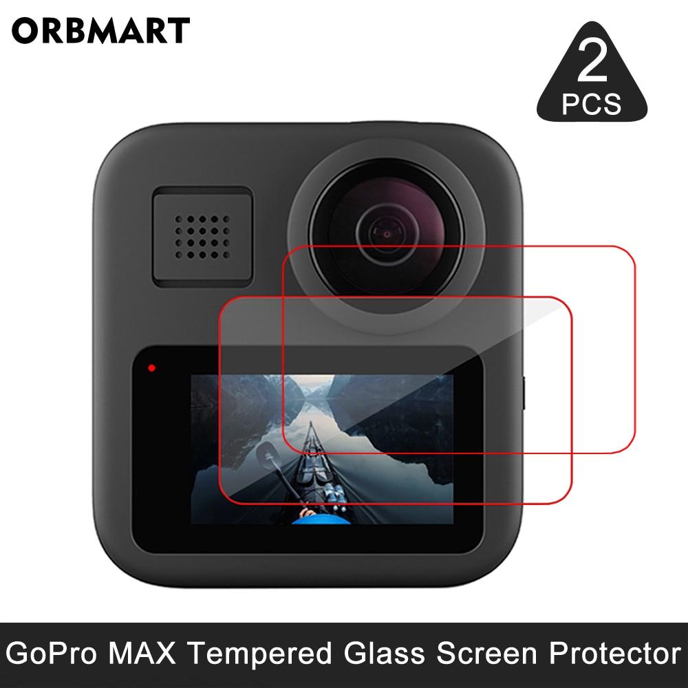 Protector de pantalla de vidrio templado para GoPro MAX, película protectora para...