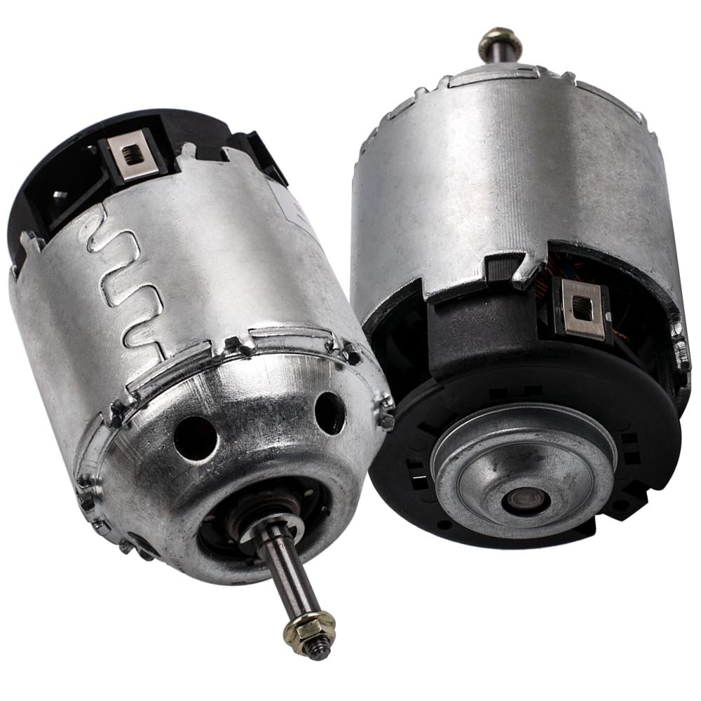 2 uds MOTOR DE VENTILADOR DE calefactor RHD para Nissan X-Trail T30 2,2, 2,5, 2001-2013