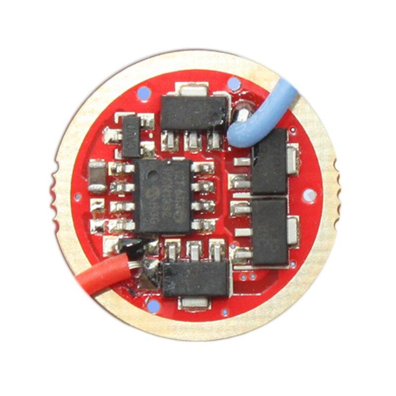 Lampe torche pilote nouveau Firmware 7135x 3/7135x 4/7135x 6/7135x8 17mm accessoires déclairage portables 1 pièce