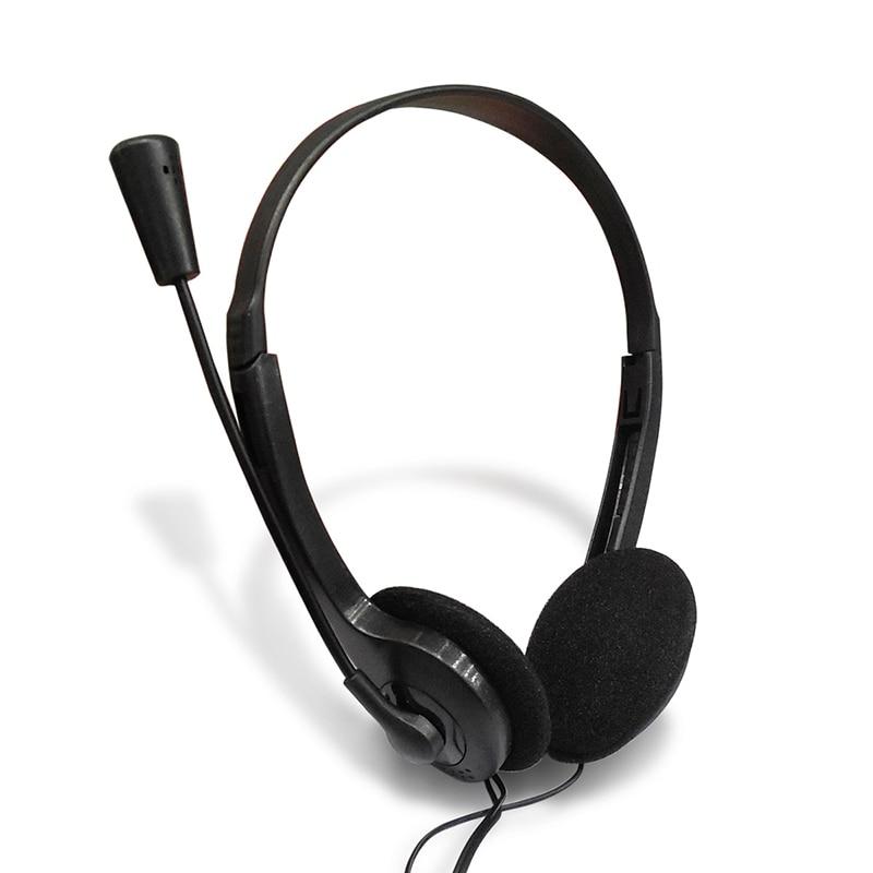 3,5mm Stereo Gaming Kopfhörer Wired Headset Mit Mikrofon Bass PC Computer Gamer Kopfhörer Universal Einstellbare Kopfhörer TSLM1