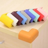 new 4pcs child baby safety silicone protector table corner edge protection cover children anticollision edge guards