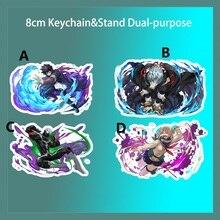 Support danime porte-clés mon héros académique tout pour un Shigaraki Tomura Dabi sangle porte-clés double usage 8cm