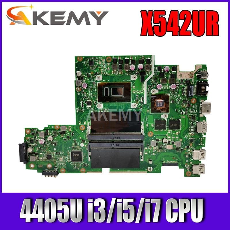 Para ASUS X542U X542UR X542UQ X542UN X542URR X542UQR placa base de computadora portátil Mianboard 100% pruebas 4405U i5-8250U i7-8550U