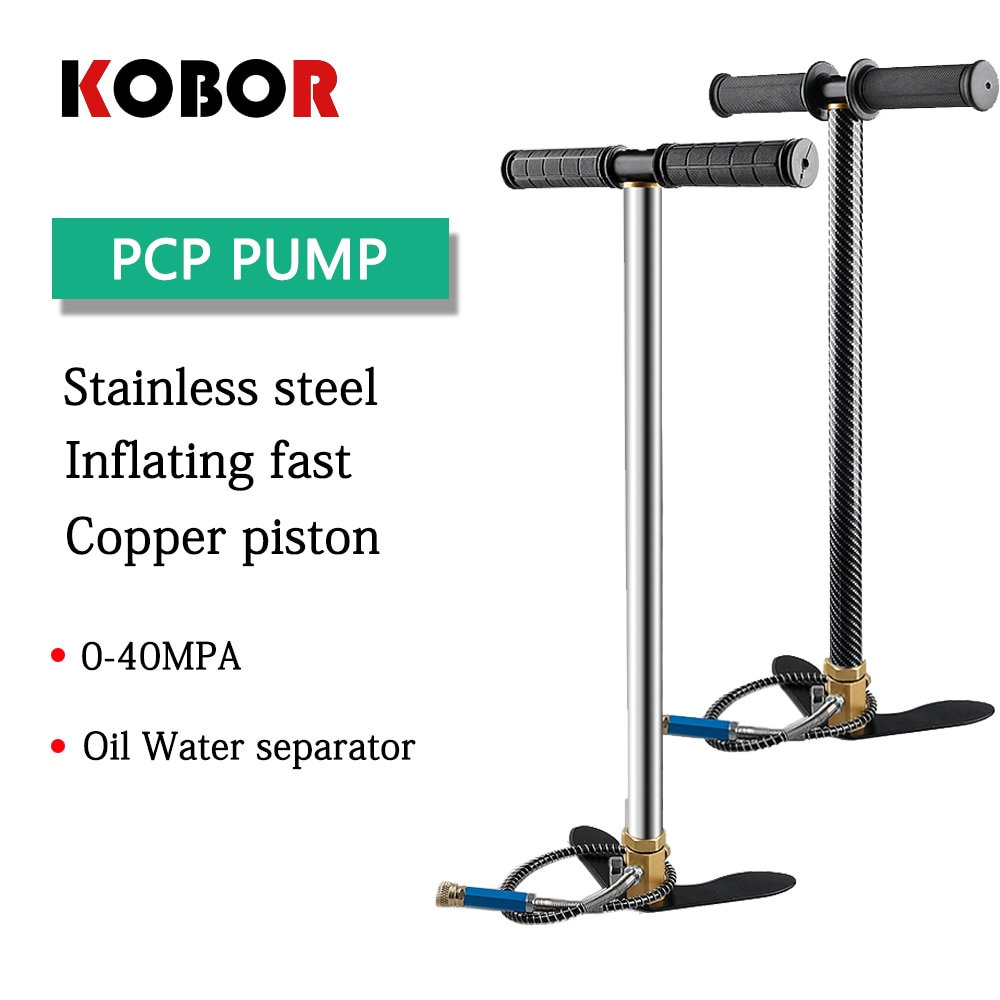 High Quality model 300bar 30MPa 4500psi 3-Stage Pcp Air Paintball Pump High Pressure Handling Compressor Dive Cylinder Pump