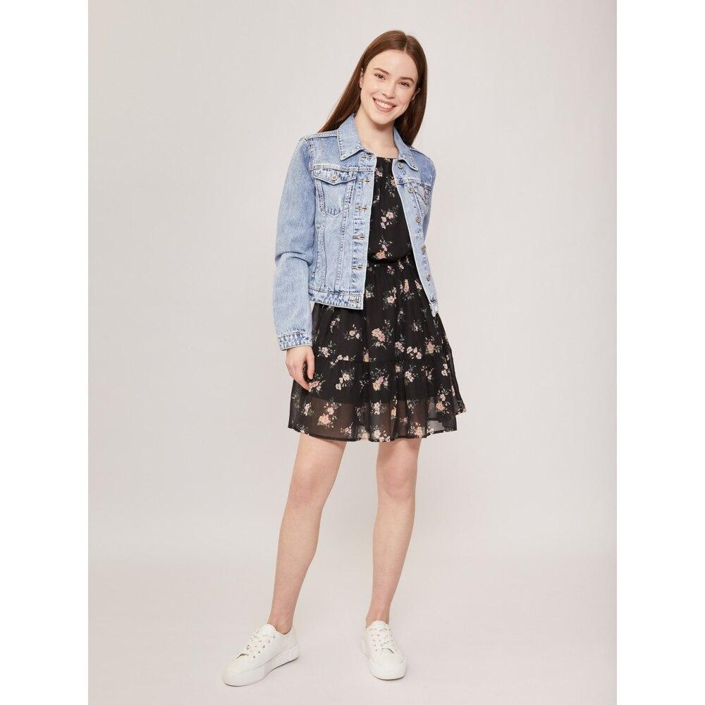 Куртка Zolla женская хлопок: 100% светло голубой