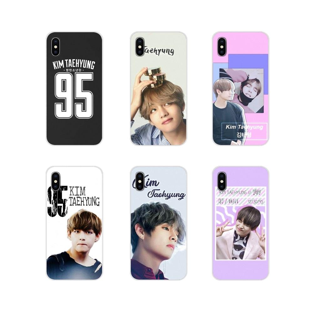 Para Samsung A10 A30 A40 A50 A60 A70 M30 Galaxy Note 2 3 4 5 8 9 10 MAIS Acessórios Do Telefone Shell Cobre V Kim TaeHyung kpop