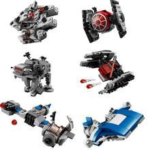Nouveau 1 pièces Star Wars vaisseau spatial microcombattants AT-ST combattants blocs de construction briques jouets avec 10893 10894