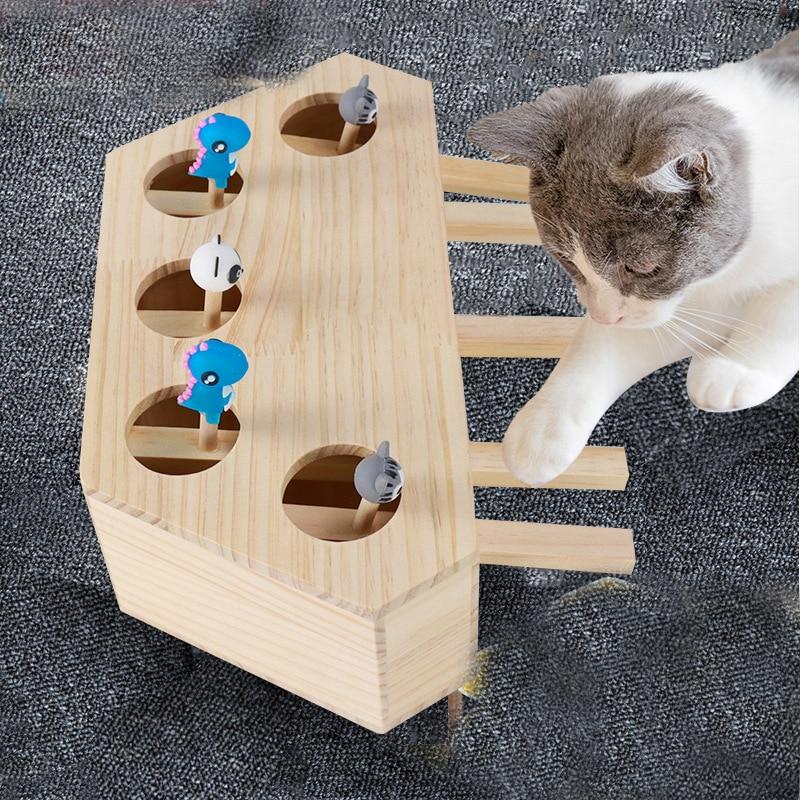 Juguetes interactivos para gatos, productos para mascotas, ratón, accesorios para gatos, baile,...