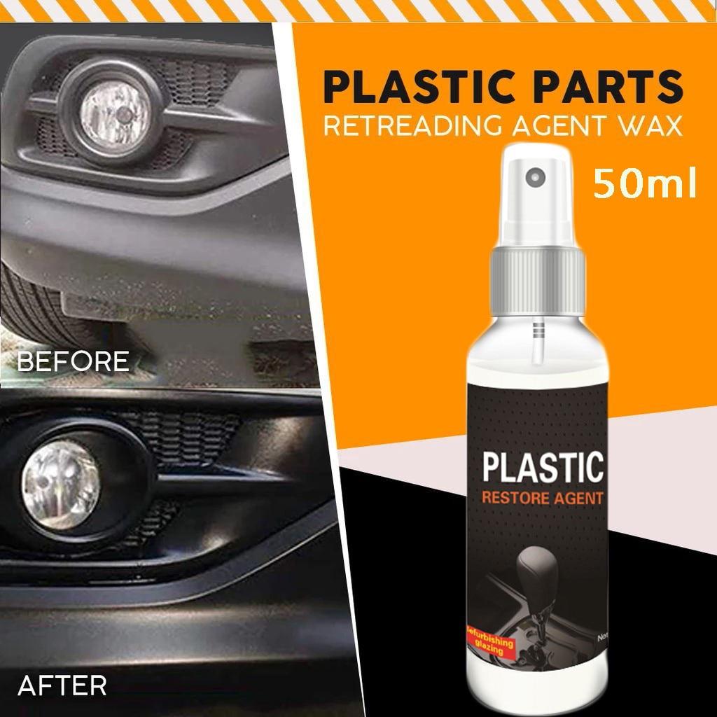 50ml automotriz Interior Auto y plástico renovado revestimiento pasta mantenimiento agente plástico restaurador agente