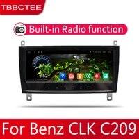 2din car multimedia android autoradio car radio gps player for mercedes benz clk class c209 a209 20062011 wifi mirror link navi