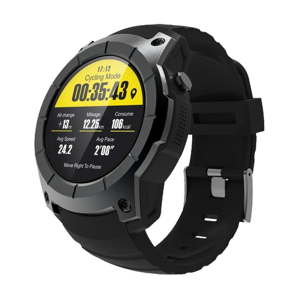 S958 Smartwatch GPS podómetro deportivo MTK2503 Monitor de ritmo cardíaco multideporte modelo Smart Watch compatible con tarjeta SIM