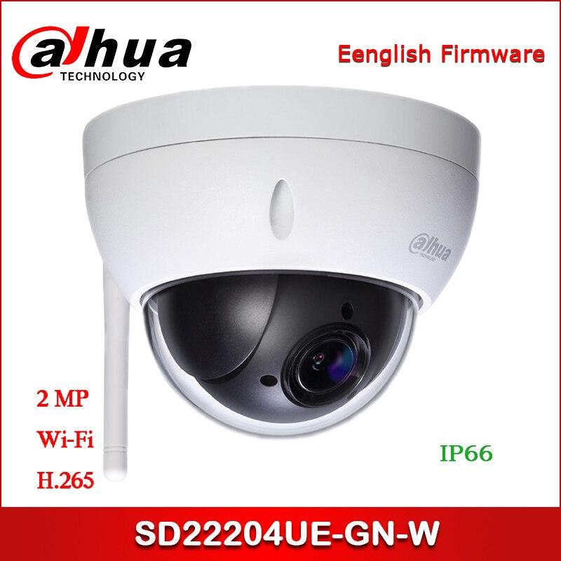 Dahua IP Cámara DH-SD22204UE-GN-W 2MP 4x Starlight PTZ Wi-Fi cámara de red 2,7mm ~ 11mm lente