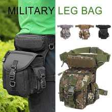 Hommes militaire imperméable à leau goutte jambe sac panneau utilitaire taille ceinture pochette Pack sacs à bandoulière Oxford Fanny Packs hommes ceinture hanche Bum sac