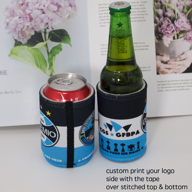 300pcs DIY Personalized Stubbie Coolers  Beer Can Coolies Beer Can Cooler for Cans Weddings Bachelorette Parties For Picnic