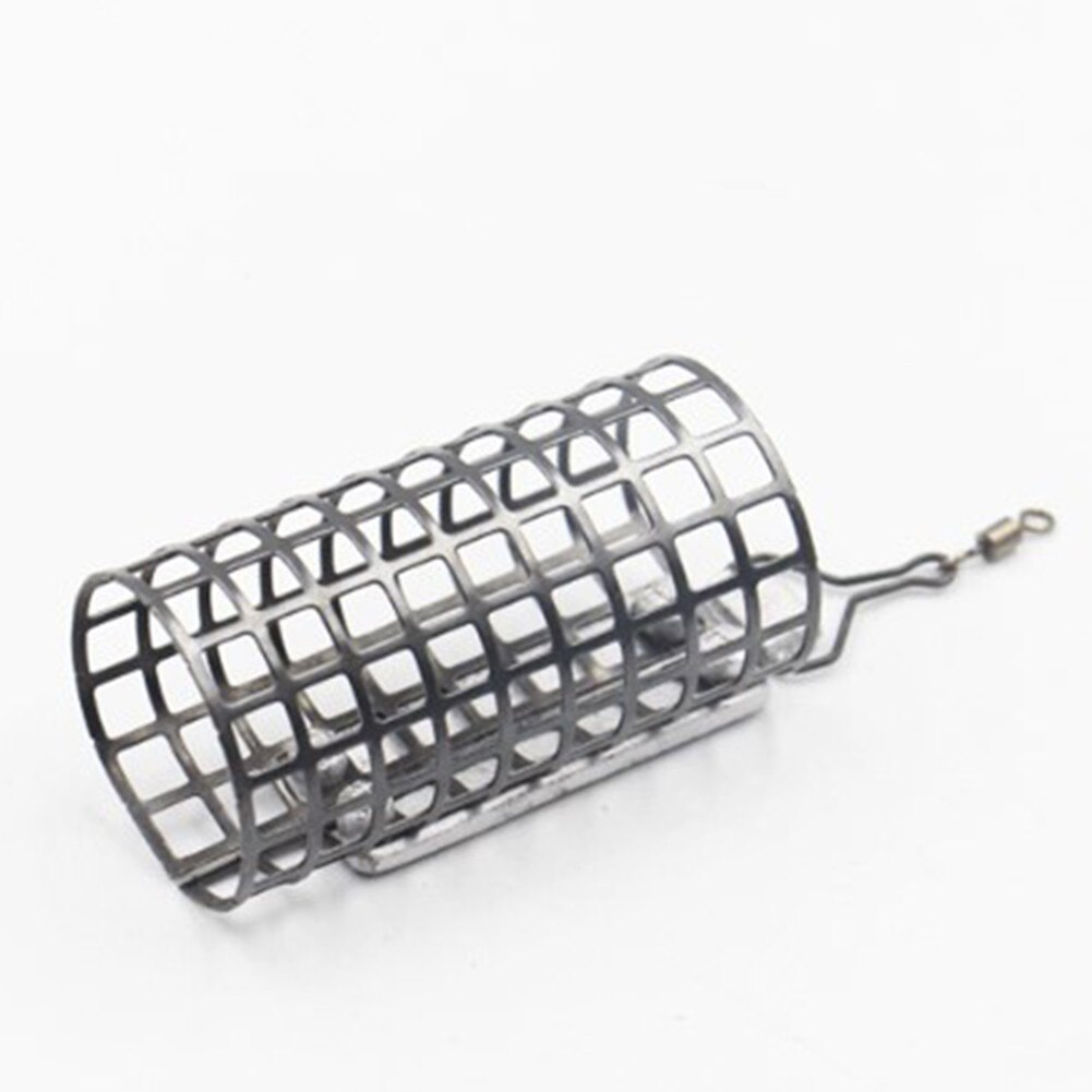 10Pcs Coarse Carp Fishing Metal Cage Fishing Bait Basket Cage Swim Feeders With Sinker 30g/Pc Lure Cage Fishing Tackle Pesca enlarge