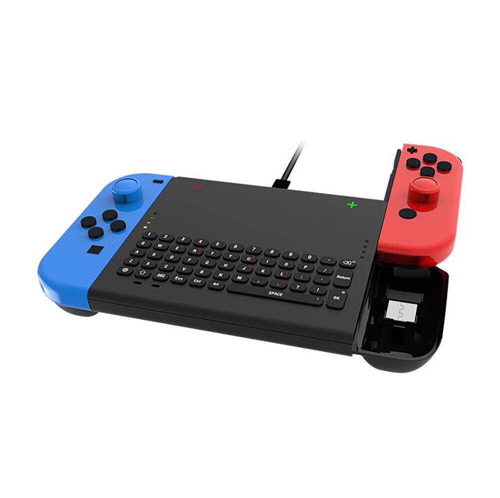 DOBE 2,4G Mini teclado inalámbrico Con luz indicadora para Nintendo Switch Joy-Con