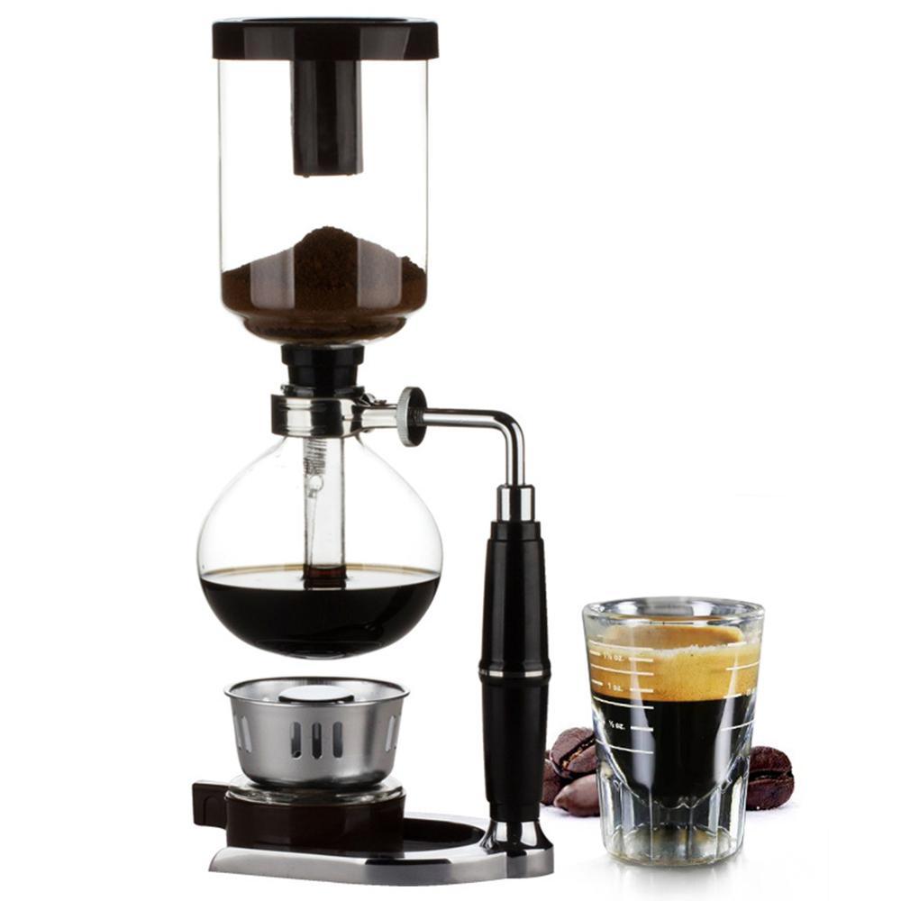 Home Style Siphon coffee maker Tea Siphon pot vacuum coffeemaker glass type...