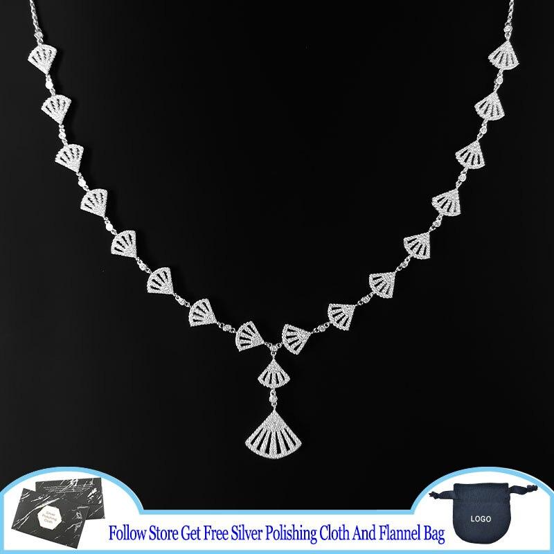Ожерелье-из-стерлингового-серебра-s925-пробы-в-форме-веера-регулируемое-ожерелье-фламенко-легкая-роскошная-женская-модная-цепочка-до-ключи