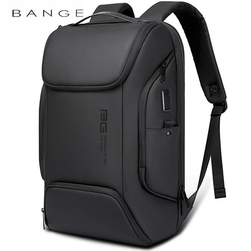 BANGE-حقيبة ظهر للكمبيوتر المحمول ، حقيبة ظهر للكمبيوتر المحمول ، متعددة الوظائف ، مقاومة للماء ، سعة كبيرة ، للعمل اليومي