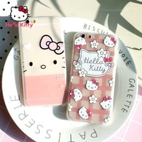 hello kitty for iphone 78pxxrxsxsmax1112pro12mini womens cute silicone anti fall soft shell