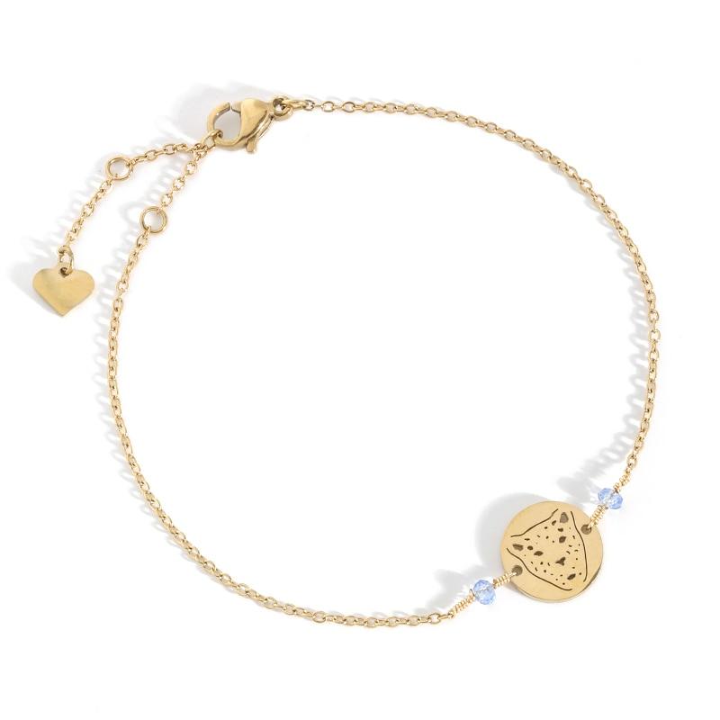 Stainless Steel Minimalist Animal Bracelets Gold Gift For Women Chain Aesthetics Fashion Charms Brac