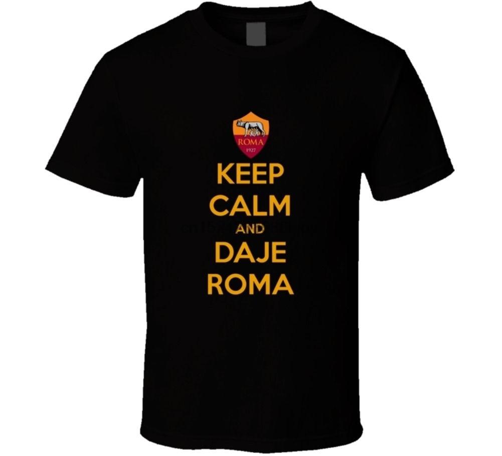 Roma Totti, mantener la calma y Daje camiseta