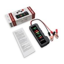 Samochodowa bateria motocyklowa Tester 12V BM310 cyfrowy Tester alternatora sprawdź stan akumulatora i ładowanie alternatora