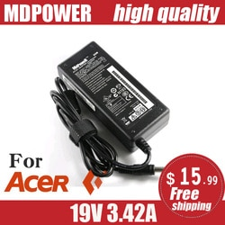 PARA ACER 19V 3.42A 65W 5.5*1.7 milímetros Laptop AC Power Adapter Charger Aspire 5315 5630 5735 5920 5535 5738 6920 7520 E5-572 E5-572G